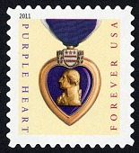 view Forever Purple Heart with Ribbon single digital asset number 1