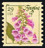view 29c Herbs: Foxglove single digital asset number 1