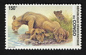 view 150k Lioness and Cubs single digital asset number 1