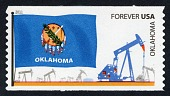 view Forever Oklahoma Flag and Oil Pumping Equipment coil single digital asset number 1