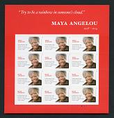 view Forever Maya Angelou pane of 12 digital asset number 1