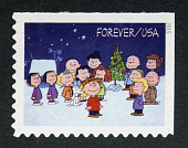 view Forever A Charlie Brown Christmas: Characters and Christmas Tree single digital asset number 1
