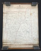 view New Hampshire and Vermont postal route map digital asset number 1