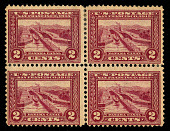 view 2c Panama-Pacific Exposition block of four digital asset number 1