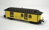 view Chicago & North West railroad mail car model digital asset number 1