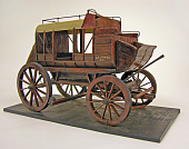 view Mud wagon-style stagecoach model digital asset number 1