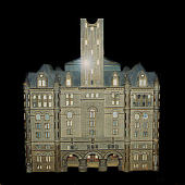 view Washington City Old Post Office architectural model digital asset number 1