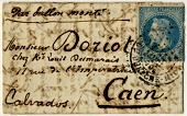 view Folded letter from Paris office at Rue du Cherche-Midi digital asset number 1