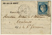view Folded letter from Paris suburb office of La Maison Blanche digital asset number 1