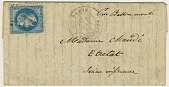 view Folded letter from Paris office at Rue Bonaparte digital asset number 1