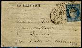 view Folded letter from Paris office at Place de la Bourse digital asset number 1