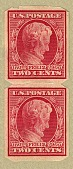 view 2c carmine Abraham Lincoln Centenary of Birth US Automatic Vending Company pair digital asset number 1