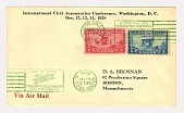 view Civil Aeronautics Conference Wright Airplane first day cover digital asset number 1
