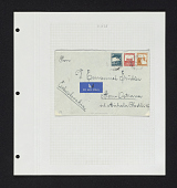 view Rishon Le Ziyon to Czechoslovakia cover on album page digital asset number 1