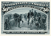view 50c Recall of Columbus plate proof digital asset number 1