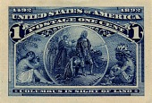 view 1c Columbian Exposition Panama-Pacific small die proof digital asset number 1
