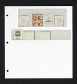 view Nahalal cancels on stamps on album page digital asset number 1