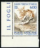 view 600 lire St. Teresa of Avila single digital asset number 1