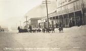view Photograph of postcard of US mail leaving Seward for Anchorage, Alaska digital asset number 1