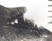 view Photograph of wreck of the Southern Railway train digital asset number 1