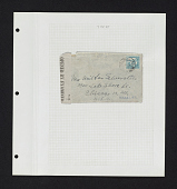 view Nahalal cancel and other postal markings on cover on album page digital asset number 1