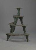 view <I>Plant stand, 4-tier, semicircle</I> digital asset number 1