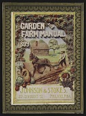 view <I>Seed catalog cover, Johnson & Stokes' Garden and Farm Manual, 1899</I> digital asset number 1