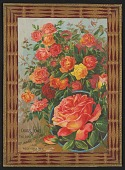 view <I>Seed catalog page, Child's Jewel, The Rose of Many Colors</I> digital asset number 1
