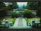view [Naumkeag]: looking from the temple in the Chinese Garden toward the entrance lodge. digital asset: [Naumkeag]: looking from the temple in the Chinese Garden toward the entrance lodge.: 1985 Aug.