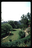 view [B. Fletcher Garden]: overall view of terraced garden. digital asset: [B. Fletcher Garden]: overall view of terraced garden.: 1992 Jun