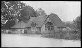 view [Penshurst Place]: the old blacksmith shop in the estate village of Penshurst, near Tonbridge, built in 1891, and now a garage. digital asset: [Penshurst Place] [negative]: the old blacksmith shop in the estate village of Penshurst, near Tonbridge, built in 1891, and now a garage.