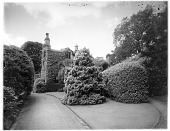 view [Rydal Mount]: a view of William Wordsworth's home in Rydal, near Ambleside, where he lived from 1817 to 1850. digital asset: [Rydal Mount] [glass negative]: a view of William Wordsworth's home in Rydal, near Ambleside, where he lived from 1817 to 1850.