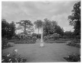 view [Sutton Place]: part of the formal/rose garden. digital asset: [Sutton Place] [glass negative]: part of the formal/rose garden.