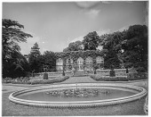 view [Miscellaneous Sites in Warwickshire, England]: the orangery at Warwick Castle. digital asset: [Miscellaneous Sites in Warwickshire, England] [glass negative]: the orangery at Warwick Castle.