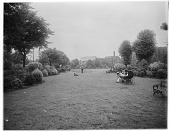 view [Turnham Green]: Turnham Green in Chiswick. digital asset: [Turnham Green] [glass negative]: Turnham Green in Chiswick.