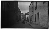 view [Miscellaneous Sites in Bowness-on-Windermere, Cumbria, England]: looking along Ash Street. digital asset: [Miscellaneous Sites in Bowness-on-Windermere, Cumbria, England] [negative]: looking along Ash Street.
