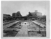 view [Hampton Court Palace]: the sunken or Pond Gardens, originally ornamental ponds used to hold freshwater fish until they were needed in the kitchens for cooking. digital asset: [Hampton Court Palace] [glass negative]: the sunken or Pond Gardens, originally ornamental ponds used to hold freshwater fish until they were needed in the kitchens for cooking.