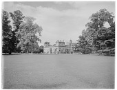 view [Wilton House and Vicinity]: looking across a broad expanse of lawn toward the house. digital asset: [Wilton House and Vicinity] [glass negative]: looking across a broad expanse of lawn toward the house.
