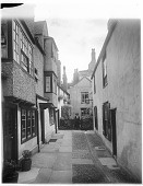 view [Miscellaneous Sites in Oxford, England]: Bath Place in Oxford. digital asset: [Miscellaneous Sites in Oxford, England] [glass negative]: Bath Place in Oxford.