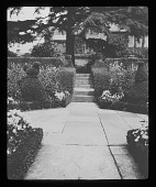 view [Hidcote Manor Garden]: the area now known as the White Garden. digital asset: [Hidcote Manor Garden] [lantern slide]: the area now known as the White Garden.