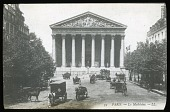 view [Miscellaneous Sites in France, Series 1]: view of La Madeleine in Paris. digital asset: [Miscellaneous Sites in France, Series 1] [lantern slide]: view of La Madeleine in Paris.