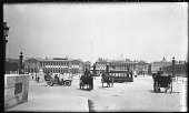 view [Miscellaneous Sites in Paris]: a view across the Place de la Concorde. digital asset: [Miscellaneous Sites in Paris] [negative]: a view across the Place de la Concorde.