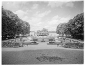 view [Miscellaneous Sites in Lisieux, Normandy, and Vicinity]: the Jardin de l'évêché in Lisieux, Normandy. digital asset: [Miscellaneous Sites in Lisieux, Normandy, and Vicinity] [glass negatives]: the Jardin de l'évêché in Lisieux, Normandy.