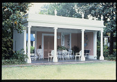 view [Strachan Garden]: close-up of the tea house. digital asset: [Strachan Garden]: close-up of the tea house.: 1987 October 1