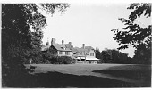 view [Holm Lea]: the house seen across the lawn. digital asset: [Holm Lea] [glass negatives]: the house seen across the lawn.