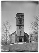 view [Miscellaneous Sites in Brookline, Massachusetts]: Christ's Church (formerly Sears Memorial Chapel), designed by Arthur D. Gilman. digital asset: [Miscellaneous Sites in Brookline, Massachusetts] [glass negative]: Christ's Church (formerly Sears Memorial Chapel), designed by Arthur D. Gilman.