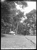 view [Unidentified Garden in Massachusetts, No. 1]: springhouses. digital asset: [Unidentified Garden in Massachusetts, No. 1]: springhouses.: [between 1920 and 1939]