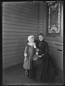 view [Tanglewood]: Mrs. Liebig and Oscar Liebig. digital asset: [Tanglewood] [glass negative]: Mrs. Liebig and Oscar Liebig.