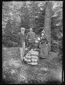 view [Tanglewood]: Dr. and Mrs. Liebig and Mr. and Mrs. Gibbons. digital asset: [Tanglewood] [glass negative]: Dr. and Mrs. Liebig and Mr. and Mrs. Gibbons.