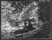 view [Patapsco River Valley]: Cascade picnic. digital asset: [Patapsco River Valley] [glass negative]: Cascade picnic.